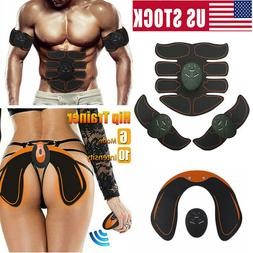 EMS Stimulator ABS Abdominal Muscle Trainer Toning Belt Smar